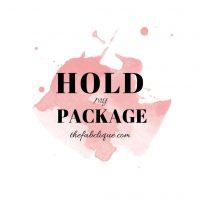 Hold Shipment