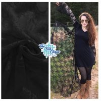 Midnight Muse on Black Stretch Lace
