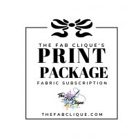 The Print Package Monthly Fabric Subscription