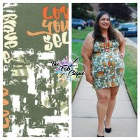 Love Yourself Graffiti Print on Olive DBP
