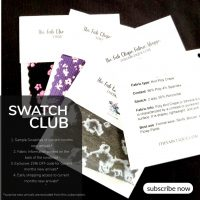SWATCH club - Fabric Swatch Subscription